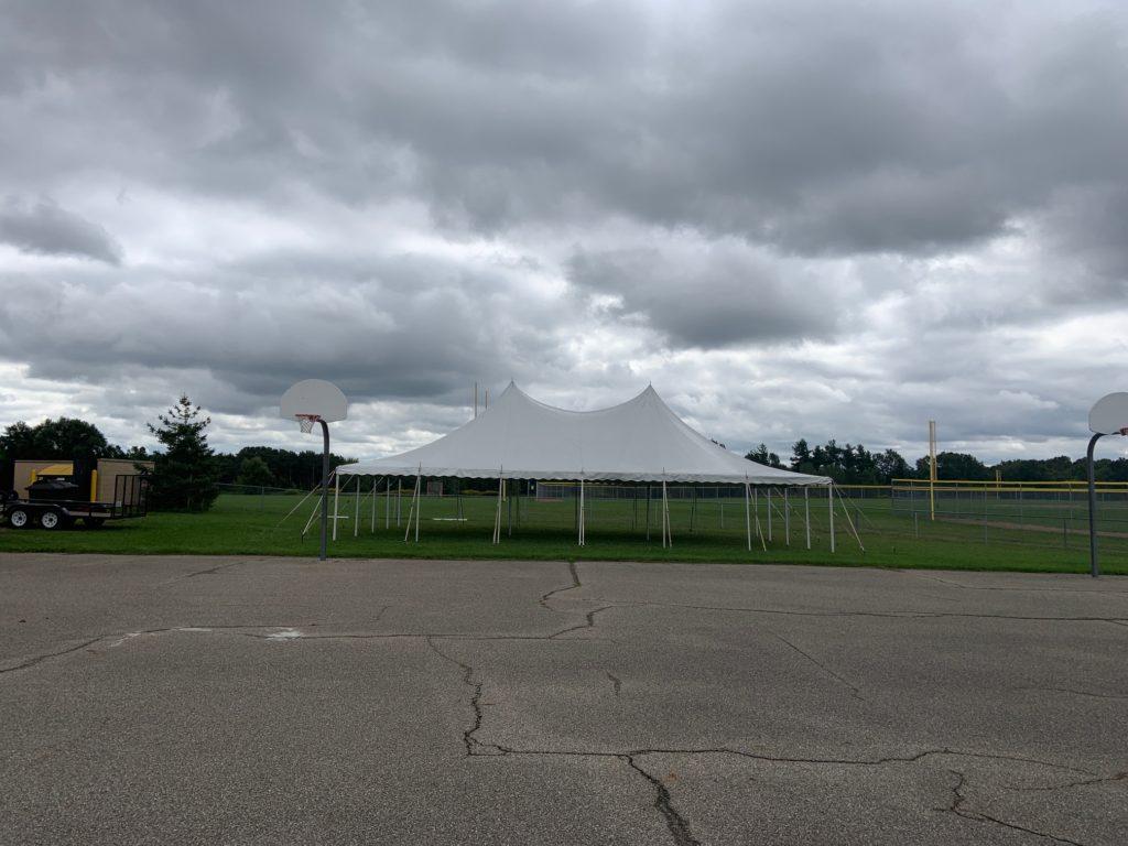 30 x 45 White Tension Tent